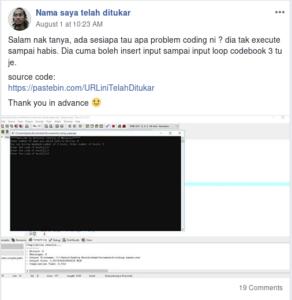 Ini contoh yg bagus sebab disertakan source code sekali.